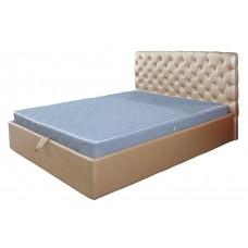Кровать с эко кожи