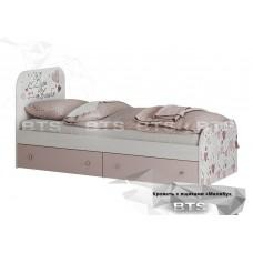 Малибу  кровать КР-10