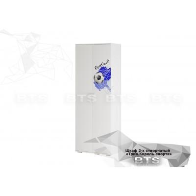 Трио Король спорта шкаф 2-х створчатый ШК-09